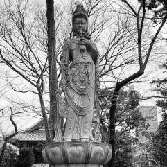 Statue near the cemetery