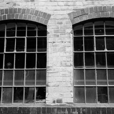 Windows of the stamping room