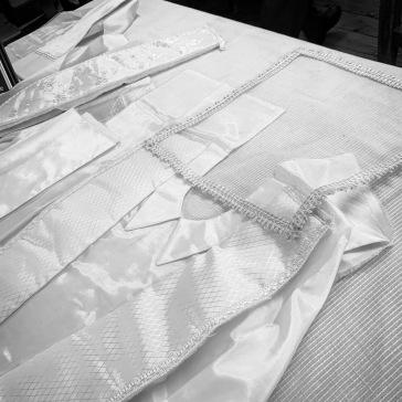 Sample shroud clothing