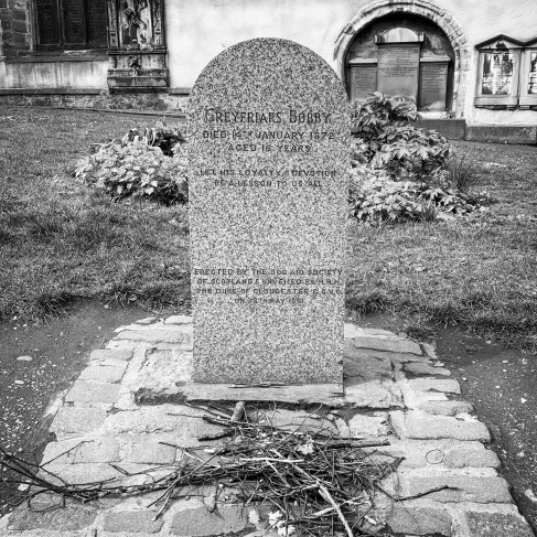 Grave of Greyfriars' Bobby