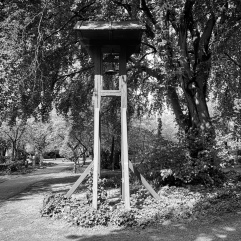 Old cemetery bell