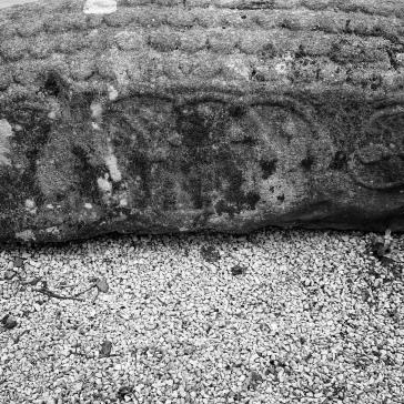 Viking stone detail