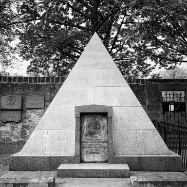Lord Rutherford's pyramid, part of the Lord's Row