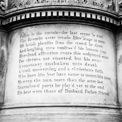 Actor's epitaph