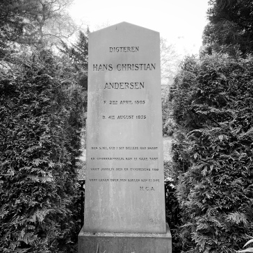 Hans Christen Andersen grave