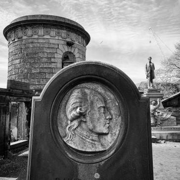 David Allen's grave
