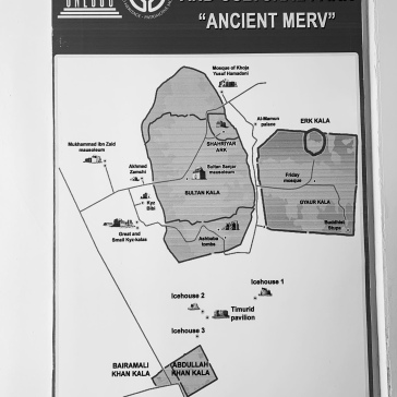 Map of Merv