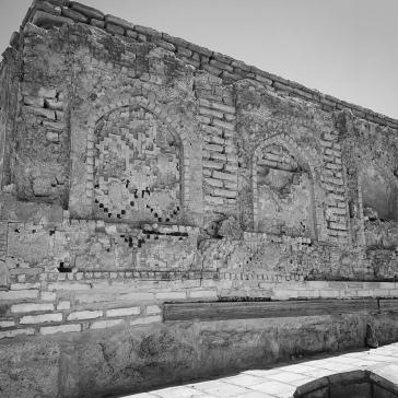 Mausoleum walls