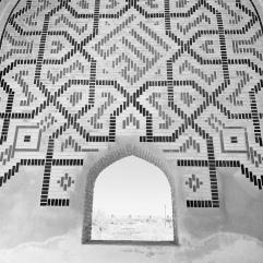Restored mausoleum