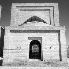 One of the mausoleums, they are twins.