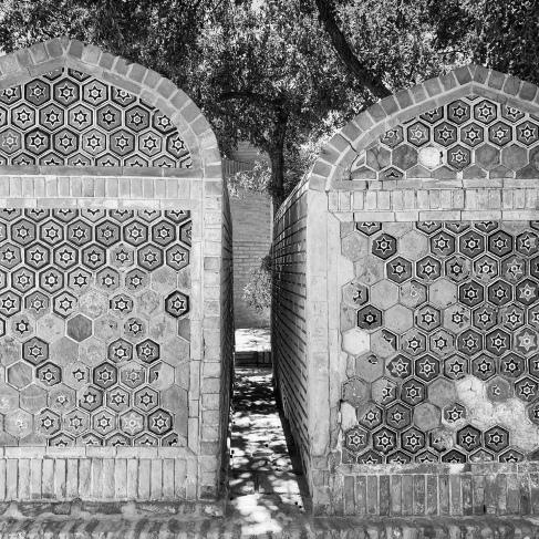 Tiled graves