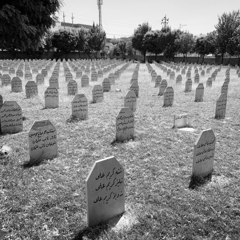 Graves of the Halabja victims
