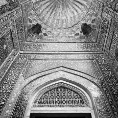 Door and ceiling detail